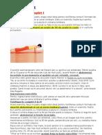 Exercitii Fizice Abdomen