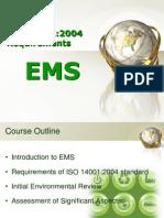 ISO 14001 EMS Presentation Part1