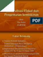 Desentralisasi Fiskal Dan Pengentasan Kemiskinan