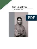 CV Satish Upadhyay June 2013