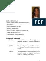 CV Mª VICTORIA (sin reformar)