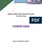 ARGtek ARG-1206 QIG