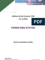 ARGtek POWER KING STATION QIG