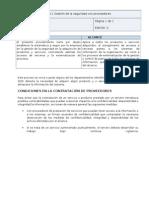 PS-11 Gestión de la seguridad con proveedores