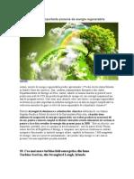 TOP 10 Cele Mai Importante Proiecte de Energie Regenerabila