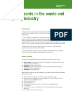 Health and Safety in Waste Management