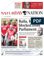 Daily Nation Saturday 15th June 2013