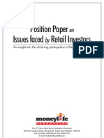 Financial Issues Faced by Retail Investors