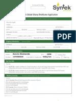 Ghana Syntek Distributor Application Form