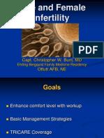 Bunt - Male and Female Infertility USAFP 2009-v2 (PPTminimizer).ppt