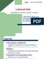 Laboratorio Web para Prototipado y Verificación de Sistemas Hardware/Software. Transparencias