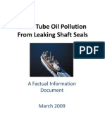 Stern Tube Oil Pollution - Facts