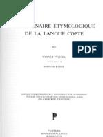 Vycichl Dictionnaire Etymologique de La Langue Copte