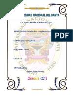 Analisis Elemnetal de Compuestos Organicos
