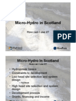 Micro HydroninScotland Mike