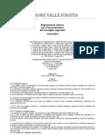 43. Regolamento Interno Consiglio Valle d'Aosta 14.07.2010 - Titolo 6 - Capo 4