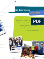 Boletin Eurodesk Junio