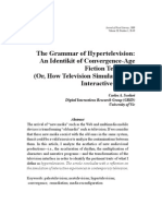 The Grammar of Hypertelevision - Scolari