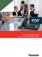 NCP1000 Brochure
