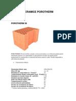 blocuri ceramice zidarie