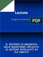 Criterio Gerarchia Resistenze Per Strutture Cls Intelaiate