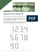 Application Kata BankOCR