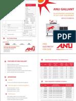 Solar Power Generator- Leaflet