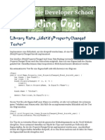 Library Kata INotify Tester
