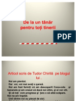 Tudor Chirila - Suntem Schimbarea