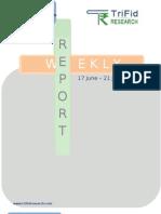 Equity Stock Weekly Report 17 June to 24 June 2013