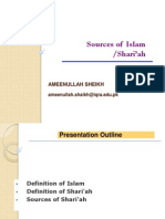 Day 1 Session 1 - Sources of Islam