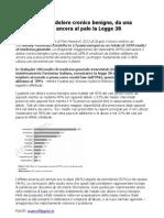 Dolore Cronico Benigno Survey Multistato condotta in 13 paesi europei