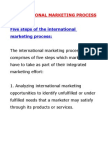 Internationalmarketing Mgmt Process