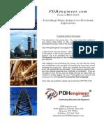 Centrifugal Pump Analysis for Petroleum Applications