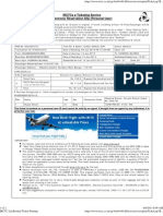 IRCTC Ltd,Booked Ticket PrintingBBS-HWH-Dhouli