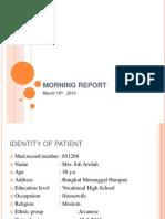 Morning Report Dr.dian