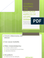Journal Reading the Infectious Aspects of Atopic Dermatitis