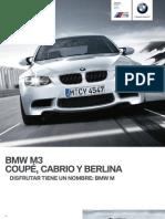 Catalogo BMW M3 Coupe Cabrio Berlina