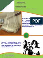Evaluation de La Couverture de La Population Par Les Moustiquaires Impregnees D-Insecticides Apres La Campagne de Distribution