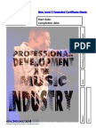 unit 2 professional development in the music industry