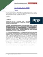 Manual de Creación de una PYMES