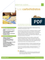 Herbalife.-  Los Carbohidratos