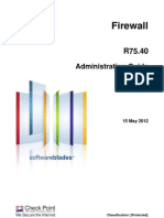 CP R75.40 Firewall AdminGuide