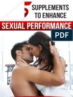 Top Five Supplements to Enhance Sexual Performance