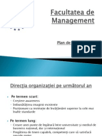 Plan de Comunicare - Management