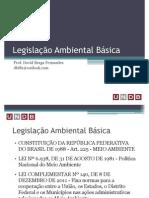 02 - Legislação Ambiental Básica - Aula