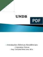 AULA - 01 INSTALAÇÕES ELÉTRICAS - CONCEITOS FÍSICOS