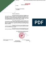 Air Algerie Lettre de Bonne Execution