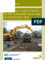 DEFRA CoP Soil Use on Construction Sites