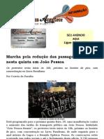 Marcha pela redução das passagens acontece nesta quinta em João Pessoa.docx